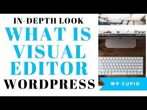 What Is Visual Editor In WordPress   WordPress Visual Editor Tutorial