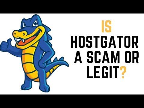 Is Hostgator A Scam Or Is Hostgator Legit?