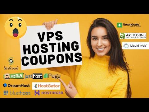 VPS Hosting Coupon Codes 2021   VPS Hosting Deals!