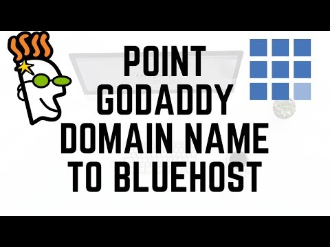 How To Point Godaddy Domain Name To Bluehost Hosting