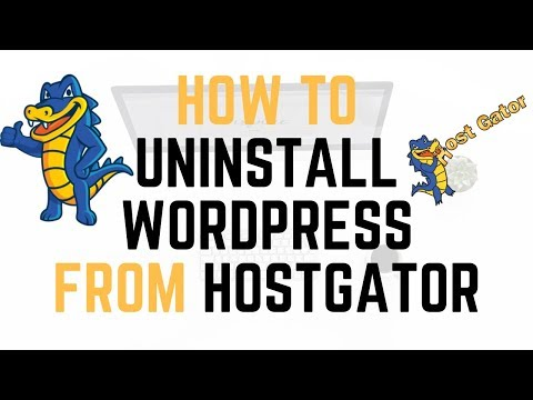 How To Uninstall WordPress From Hostgator cPanel | Quick & Easy
