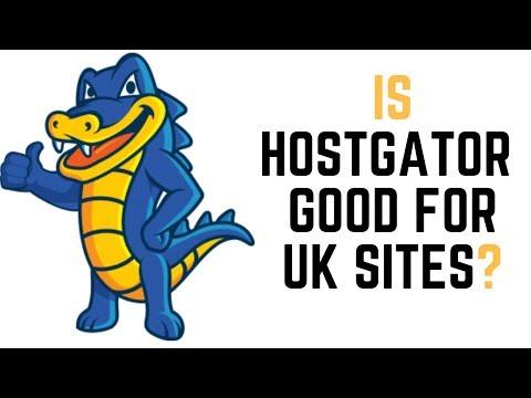 Is Hostgator Hosting Good For A UK Site?
