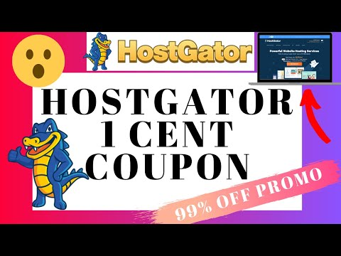 Hostgator 1 Cent Coupon Code   1 Penny Discount   99% OFF