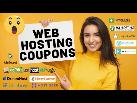 Web Hosting Coupon Code (2021)   Hosting Promo Codes and Discounts
