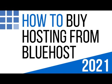 How To Buy Hosting From Bluehost | Purchase Bluehost Hosting Tutorial