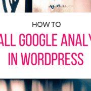 install-google-analytics-in-wordpress