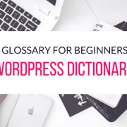 wordpress-glossary-for-beginners