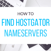 find-hostgator-nameservers
