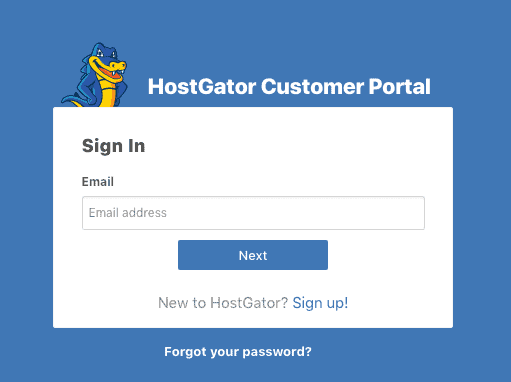 hostgator-customer-portal-login